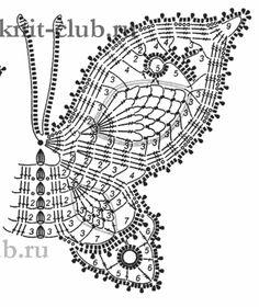 2/3 Crochet Butterfly Patterns