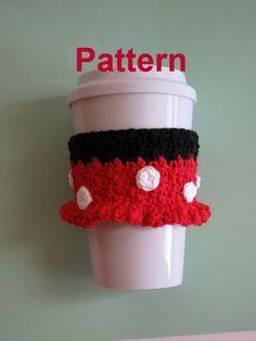 PDF Pattern: Crochet Minnie Mouse Cozy