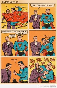 Good times with Superman