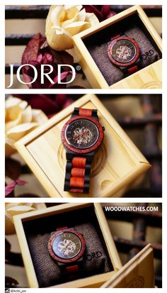 A stocking stuffer that will stun. JORD has added a natural Ebony & Rosewood piece to their Dover Series. Natural, hand finished wood combines with the powerful mechanics of a 21 jewel automatic movement, creating a timepiece to treasure for years to come. Out do yourself this season, order the perfect present from www.woodwatches.com Limited stock and free worldwide shipping through the holidays.