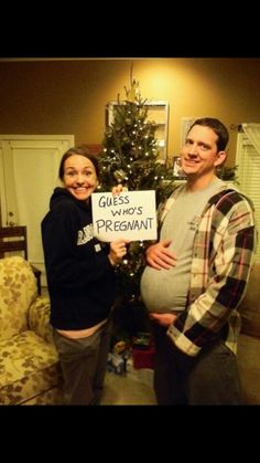 Hahaha funny pregnancy announcement :)