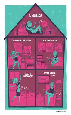 PLATO: On music from the web comic zen pencils. Grands Philosophes, Cartoon Quotes, Cartoon Images, Funny Quotes, Quotes By Famous People, Music Education, Music Quotes, Music Is Life, Life Lessons