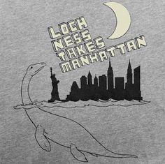 Geek, loch ness, loch ness monster, monster, creature, sea creature, nautical, new york, manhattan, brooklyn