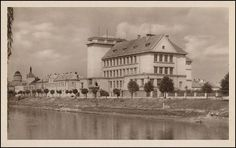 Břeclav - Smetanovo nábřeží (1956)