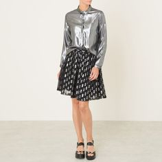 Hemdbluse, Seide POMANDERE Dresses For Work, Formal Dresses, Sequin Skirt, Sequins, Boutique, Knitting, Skirts, Glitter, Ideas