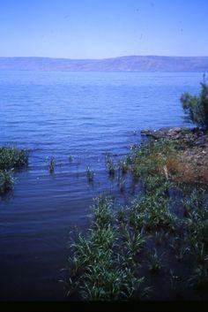 Beautiful Sea of Galilee - http://www.travelandtransitions.com/destinations/destination-advice/asia/