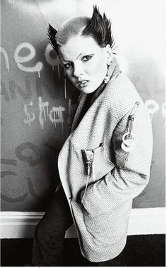 Soo Catwoman punk 1976 Photo By Ray Stevenson                                                                                                                                                                                 More