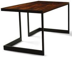 Steel frame desk Double Lock, Steel Frame, Architecture Art, Granite, Desk, Stone, Wood, Arrow, Table