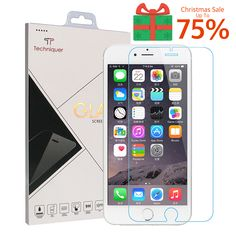 up to 75 off iphone 6s tempered glass screen protector amazoncom tempered glass