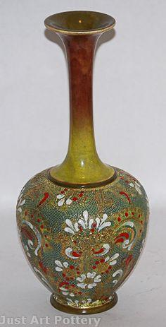 Doulton Lambeth Slaterware Vase from Just Art Pottery
