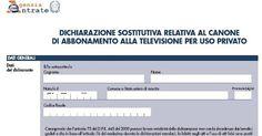 Ecco la documentazione ufficiale per richiedere l'esenzione del Canone RAI
