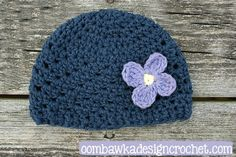 I recently had a request for the preemie size Hope hat. I apologize for not including this in the original pattern! Free Pattern Preemie Size Hope Hat Hook: 5.00 mm (H) Yarn: Bernat Handicrafter Co... ✿⊱╮Teresa Restegui http://www.pinterest.com/teretegui/✿⊱╮