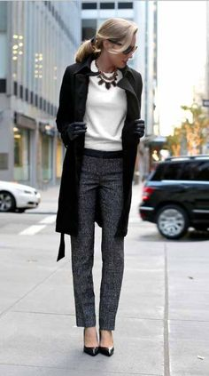 Chic workwear this fall. | Office Style