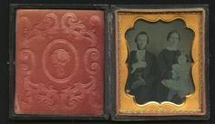 1850's Cased Daguerreotype Mother Amp Father Holding Young Daughter | eBay