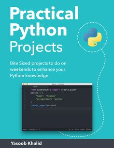 Practical Python Projects Book – Python TipsYou can find Computer programming and more on our website.Practical Python Projects Book – Python Tips Python Programming Books, Computer Programming Languages, Computer Coding, Learn Programming, Computer Technology, Computer Science, Arduino Programming, Programming Humor, Linux
