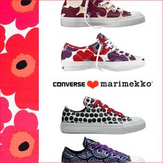 CONVERSE & marimekko ALL STAR LOW・HI・JACK PURCELL sneaker  (コンバース マリメッコ オールスター ジャックパーセル スニーカー)