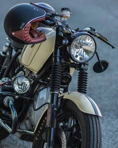 "rankxerox: ""• saint_motors By @markdimark BMW R65 1981 @atomriders """