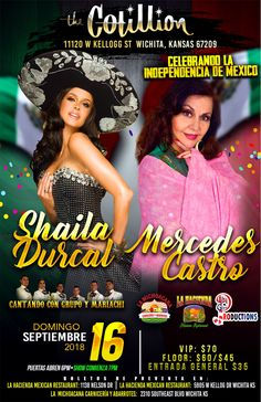 16 best upcoming concert flyers images on pinterest shaila durcal w mercedes castro plus cantando con grupo y mariachi september 16 2018 700 pm door time 6pm vip door time 5pm vip tickets include early m4hsunfo