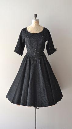 vintage 1950s dress | Rain in Spain dress