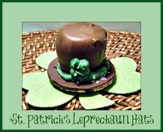 St. Patrick's Day Leprechaun Marshmallow Hats Recipe!