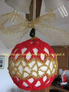 Bola de Navidad en crochet