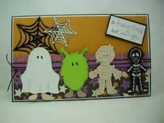 Projects using Happy Hauntings up Cricut cartridge - - Yahoo Image Search Results