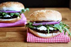 potobello mushroom burgers