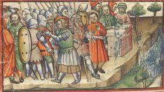 Manuscript BL Additional 15277 Paduan Bible Picture Book Folio 079v Dating 1400 From Padua, Włochy