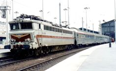 New, high priced high speed rail routes are causing the demise of affordable European Rail travel. Normal lines are disappearing &  Budget Airline tickets are often much cheaper than fares on high speed rail.  This is the old Paris-Brussels - Amsterdam Etoile du nord, replaced in 1996