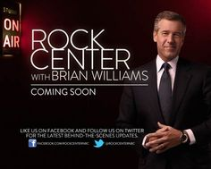"""Rock Center with Brian Williams- on Mormons  Now...watch this with an open mind, realizing that it's the media's prospective and not all their facts are straight.  I question why they were asking """"famous EX-Mormons"""" instead of those who actually live it.  Some of it was good though."""