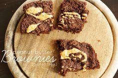 Gluten free, vegan Brownies | gluten freie vegane Brownies
