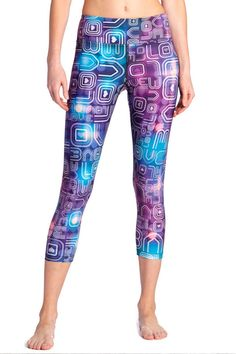 Get up and dance with these super groovy Disco Printed Leggings from Eagle Rock Werkshop! Available at evolvefitwear.com