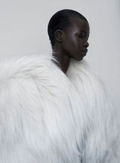 organization:  Titania InglisGods Magazine #2Photographer: Kasia BielskaMakeup: Linda Gradin Model: Nykhor Paul