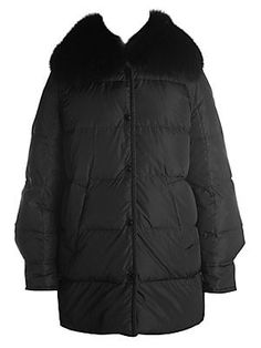 Looking for Moncler Mesange Fox Fur Collar Puffer Coat BLACK ? Check out our picks for the Moncler Mesange Fox Fur Collar Puffer Coat BLACK from the popular stores - all in one. Black Women Fashion, Womens Fashion, Floor Length Dresses, Lace Bodysuit, Fur Collars, Fox Fur, Moncler, Winter Jackets