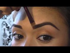 How to get the perfect eyebrows; eyebrow shading tutorial