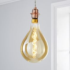 The Status Dimmable LED Bulb is a low energy efficient spiral filament that has a antique amber effect that helps create a unique ambiance in your living space. This bulb also features an oversized design that has 6.5 watts of power with a lumens output of 350 and lasts up to 10,000 hours.Please note: This bulb is dimmable with LED compatible dimmer switch.Light your home in a versatile and environmentally friendly way with LED lighting. LEDs are very energy-efficient, using up to 90% less…