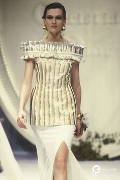 Image from object titled 'Christian Dior, Spring-Summer Couture' Dior Dress, Christian Dior Vintage, Gianfranco Ferre, Dior Couture, Runway, Vintage Fashion, Spring Summer, Inspiration, Designers