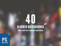 850+ Free Blurred Backgrounds for Your Projects http://inspirationfeed.com/freebies/850-free-blurred-backgrounds-for-your-projects/