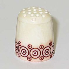 Holmogorskya carving  - History of Russian Thimbles on this link