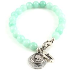 Armband LUNA Edelsteen Mint - Armbanden Dooor Jewelry