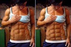 Post with 42 votes and 11919 views. Female subject with a clearly visible rectus abdominis muscle Fitness Motivation Quotes, Fitness Goals, Health Fitness, Rectus Abdominis Muscle, Bikini Competition Prep, Figure Poses, Physique, Fit Women, Bodybuilding