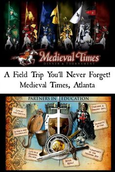 Living History field trip with Medieval Times! Learn about the Middle Ages in a fun and engaging way. Perfect for homeschool hands on history!