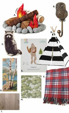 Camping Room, Camping Theme, Camping Nursery, Bedroom Themes, Nursery Themes, Kids Bedroom, Outdoorsy Style, Outdoor Bedroom, Kid Spaces