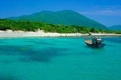 Isla de Hon Mun, en la bahía de Nha Trang, en Vietnam.