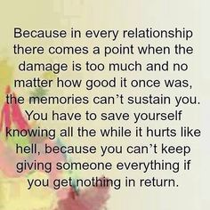 In every relationship