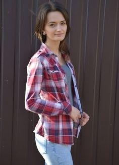 Kup mój przedmiot na #vintedpl http://www.vinted.pl/damska-odziez/koszule/12661083-koszula-w-krate-hm-xs-s
