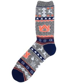 For Bare Feet Auburn Tigers Ugly Sweater Socks