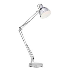 The Oversized Porter floor lamp in chrome adds the wow factor to your living space. by acting as a feature piece for most interior styles from Industrial to inner city chic. Industrial Light Fittings, Industrial Wall Lights, Industrial Style Lighting, Funky Floor Lamps, Desk Lamp, Table Lamp, Wow Products, Interior Styling, Living Spaces