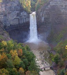 Waterfall New York State