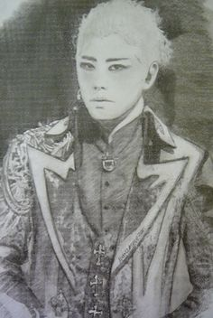 https://flic.kr/p/ti9Qd8 | Park Hyo Shin | his role in Elisabeth - charcoal and pencil -still working on this one